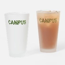 Campus, Vintage Camo, Drinking Glass