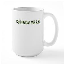 Canadaville, Vintage Camo, Mug