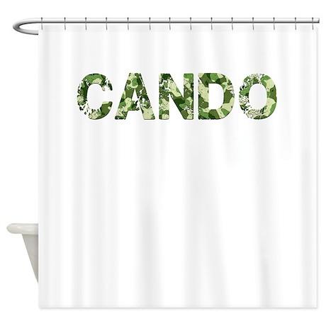 Cando, Vintage Camo, Shower Curtain