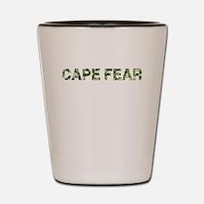 Cape Fear, Vintage Camo, Shot Glass