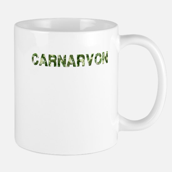 Carnarvon, Vintage Camo, Mug