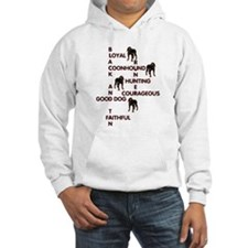 black and tan crossword Hoodie