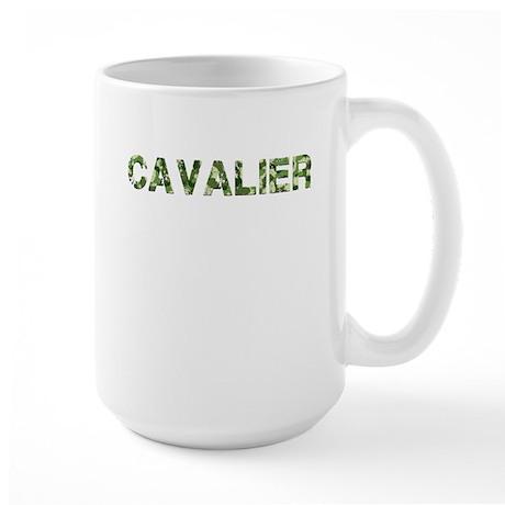 Cavalier, Vintage Camo, Large Mug