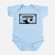 rsph barn sign black Infant Bodysuit