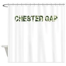 Chester Gap, Vintage Camo, Shower Curtain