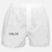Chloe, Vintage Camo, Boxer Shorts