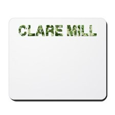 Clare Mill, Vintage Camo, Mousepad