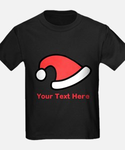 Santa Hat Picture and Text. T