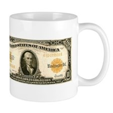 $10 Gold Certificate Mug