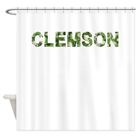 Make Your Inner Interior Designer Smile And Shop Our Clemson Camouflage Shower  Curtains To Create The Bathroom Of Your Dreams.