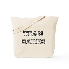 Team Barks Tote Bag