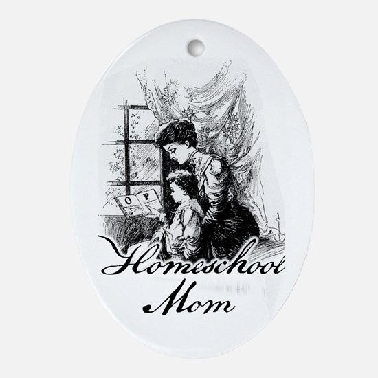 HS Mother Oval Ornament