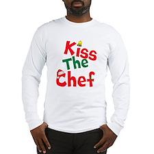 Kiss The Chef Long Sleeve T-Shirt