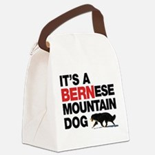Its a BERNese Canvas Lunch Bag