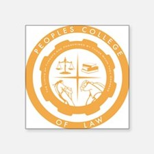 "PCL New Logo 2 Square Sticker 3"" x 3"""