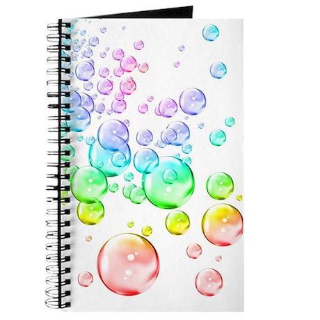 Colored bubbles Journal