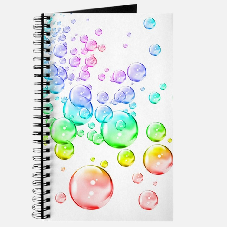 Colored bubbles Journal