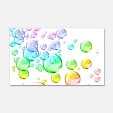 Colored bubbles Wall Decal