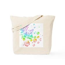 Colored bubbles Tote Bag