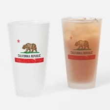 Unique California the golden state Drinking Glass