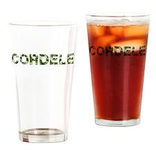 Cordele, Vintage Camo, Drinking Glass