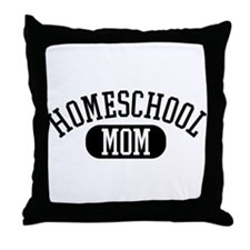 HS Mom Throw Pillow
