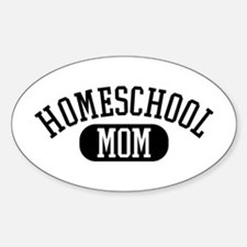 HS Mom Oval Decal