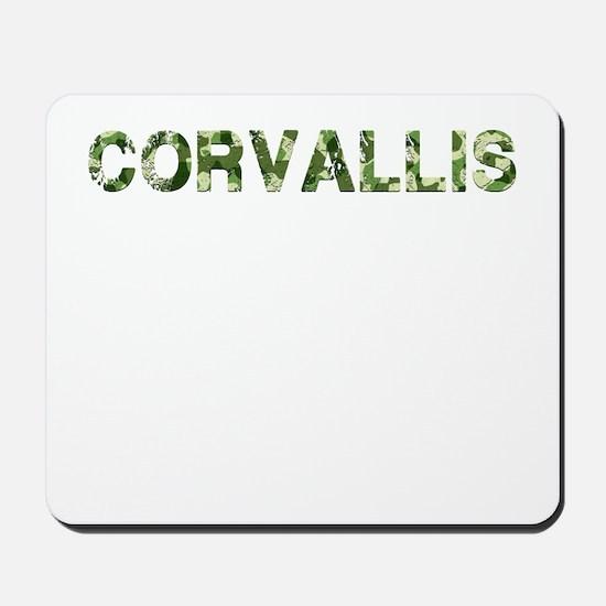 Corvallis, Vintage Camo, Mousepad