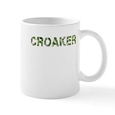 Croaker, Vintage Camo, Mug