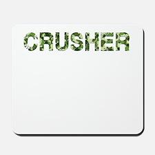 Crusher, Vintage Camo, Mousepad