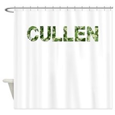 Cullen, Vintage Camo, Shower Curtain