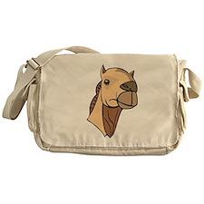Camel Head Design Messenger Bag