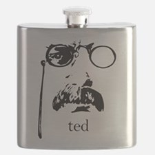 Cute Theodore roosevelt Flask