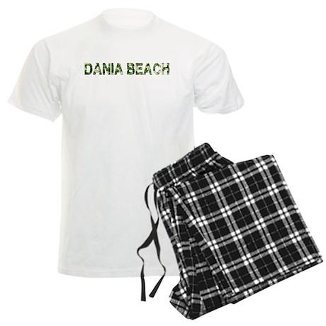 Dania Beach, Vintage Camo, Men's Light Pajamas