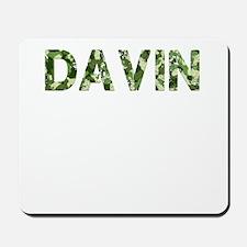 Davin, Vintage Camo, Mousepad