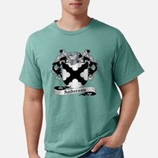 Unique Clan anderson badge Mens Comfort Colors Shirt