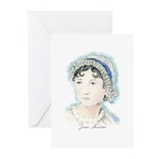 Jane Austen Painting Greeting Cards (Pk of 10)