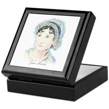 Jane Austen Painting Keepsake Box