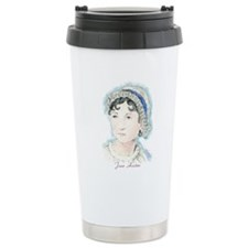 Jane Austen Painting Travel Mug