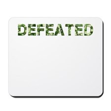 Defeated, Vintage Camo, Mousepad