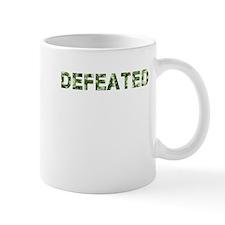 Defeated, Vintage Camo, Mug