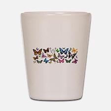Butterfly Extravanganza Shot Glass