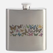 Butterfly Extravanganza Flask