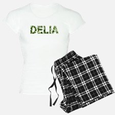 Delia, Vintage Camo, Pajamas