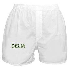 Delia, Vintage Camo, Boxer Shorts