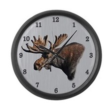 Big Moose Large Wall Clock