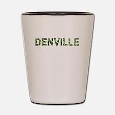 Denville, Vintage Camo, Shot Glass