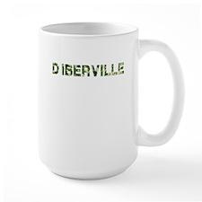 DIberville, Vintage Camo, Mug