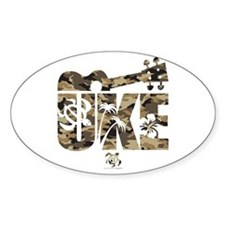 The Uke Camo Decal