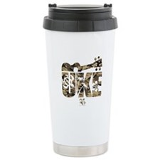 The Uke Camo Travel Mug